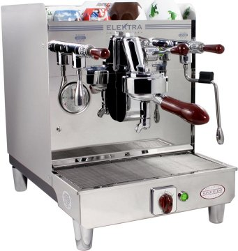 how to clean elektra espresso machine