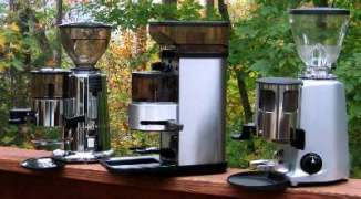 Macap M4, Cimbali Junior, Mazzer Mini