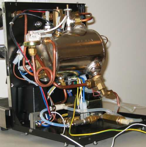 ecm giotto espresso machine