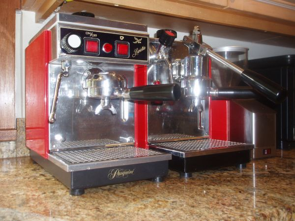 Gaggia 74841 Espresso Coffee Maker Deep Red : Olympia Cremina vs Maximatic in Lever Espresso Machines - Page 2