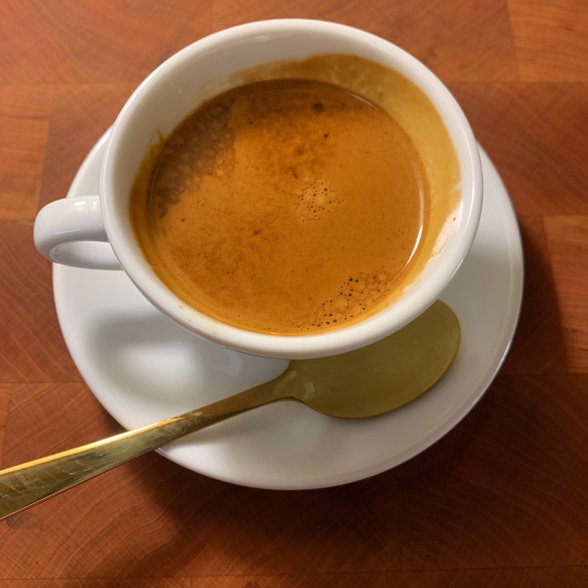 Traditional Espresso Suggestion