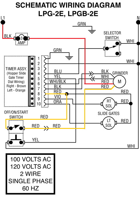 [SCHEMATICS_4UK]  BUNN LPG re-assembly issue - Grinders - Page 2 | Bench Grinder Power Switch Wiring Diagram |  | Home-Barista.com