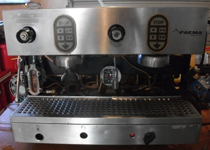 mr coffee 4cup steam espresso machine