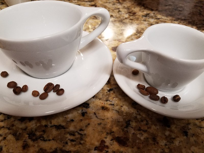 Quick recommendations for espresso cups, and cappuccino type cups?