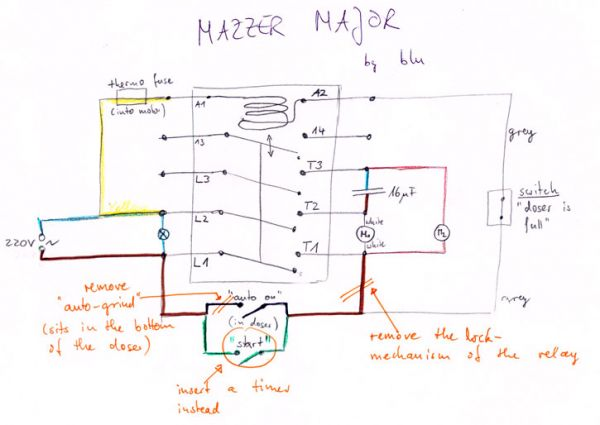 mazzer kony removing doser microswitch instructions home image
