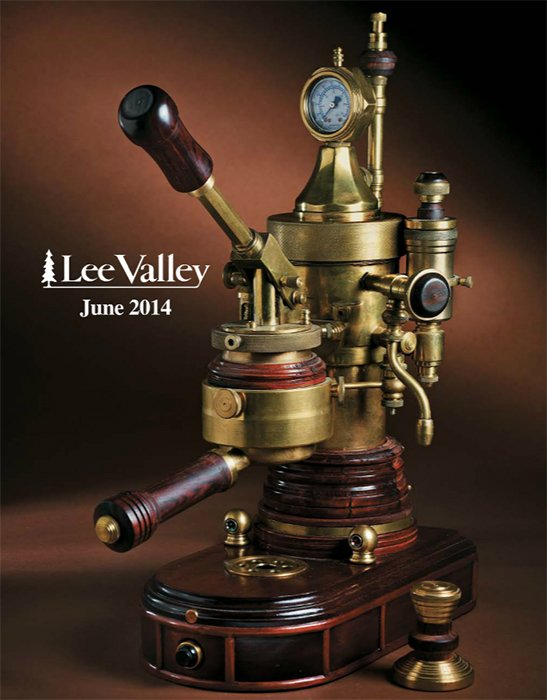 Custom Lever Espresso Machine On Lee Valley Cover