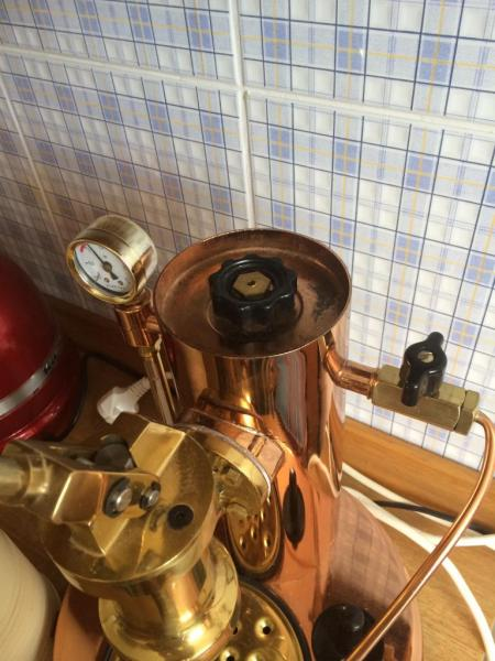 Steam Pressure Gauge Stuck On Used Elektra Microcasa A Leva