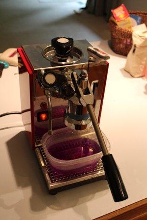 Used Olympia Cremina Has Magenta Boiler Water