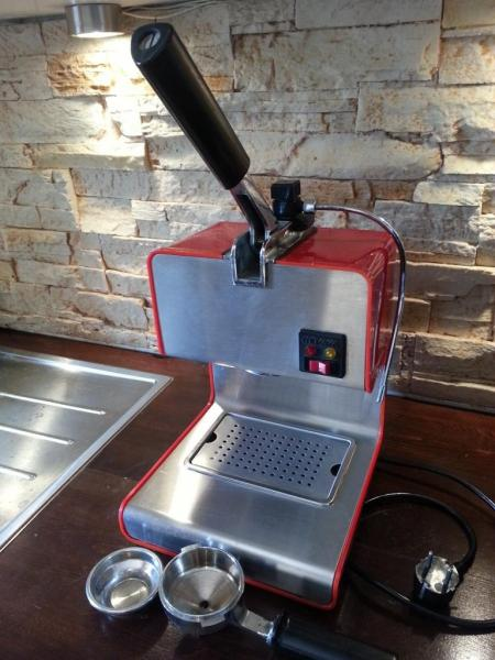 mini espresso machine with steam wand