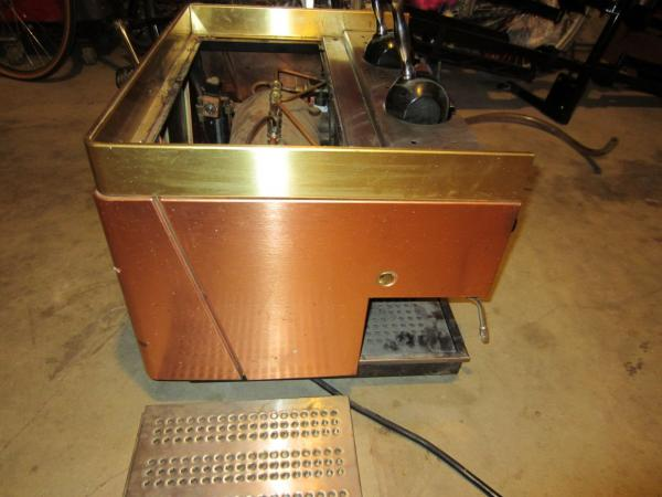 astoria propane espresso machine