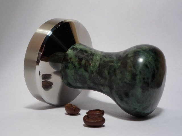 Tamper With Stone Handle