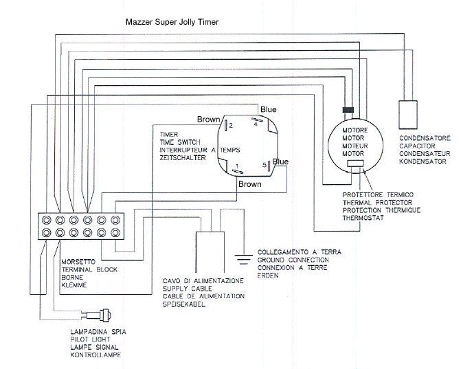 Replacing Mazzer Super Jolly timer switch with a toggle switch?