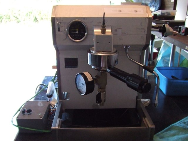 home built espresso machine
