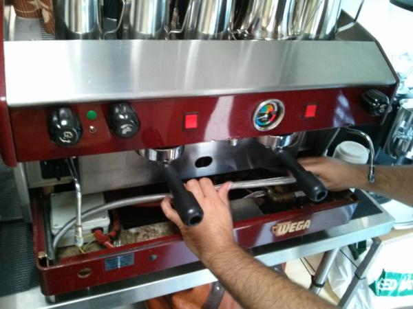 wega polaris coffee machine manual