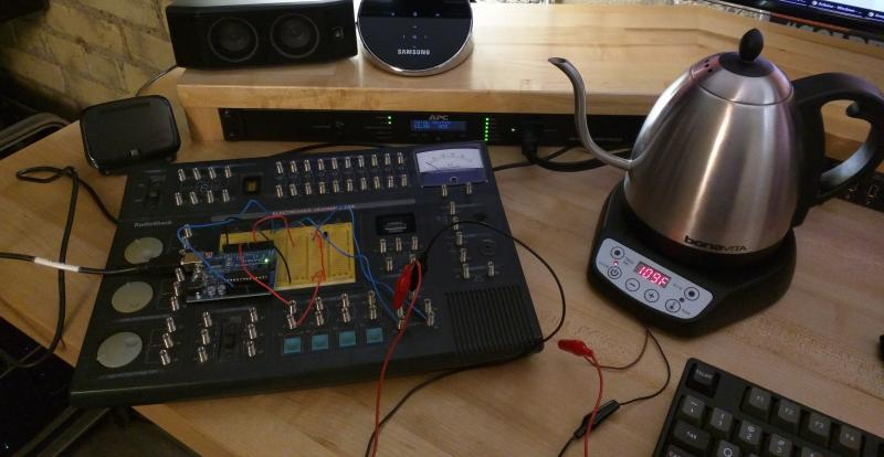 Adding wifi to the bonavita digital kettle