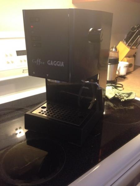 16 Year Old Espresso Machine Never Been Descaled