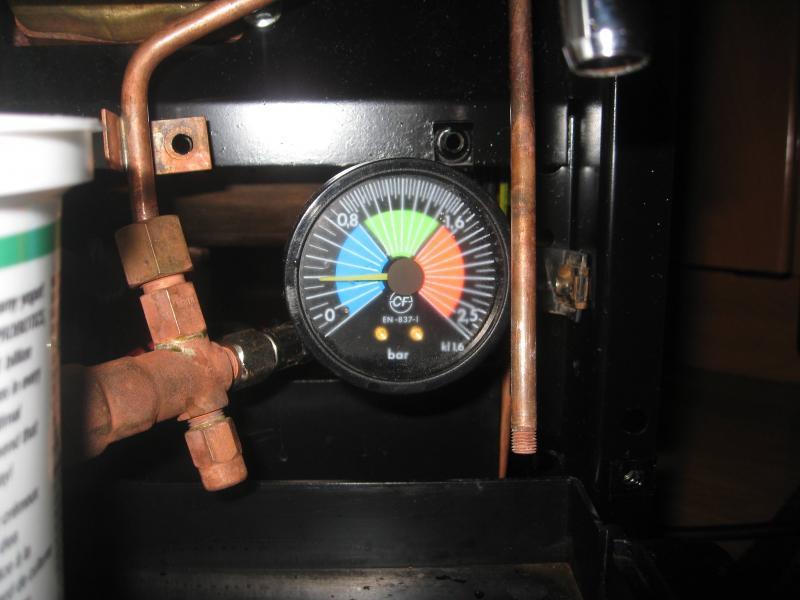 la cimbali junior pressurestat and boiler safety valve. Black Bedroom Furniture Sets. Home Design Ideas
