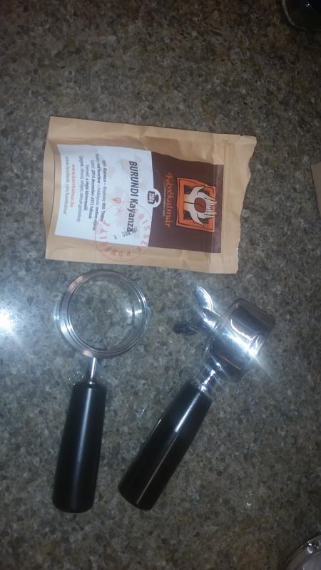 OLYMPIA EXPRESS 49mm Bottomless Naked Portafilter Espresso