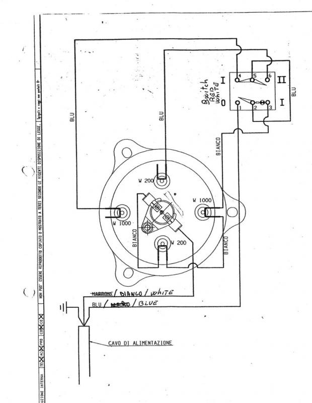 early 1980s la pavoni europiccola need help replacing Bunn Wiring Diagram