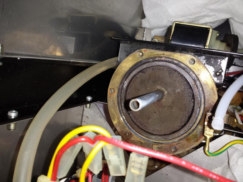 Rancilio Silvia V1 Replacing Boiler Gasket Cleaning Question