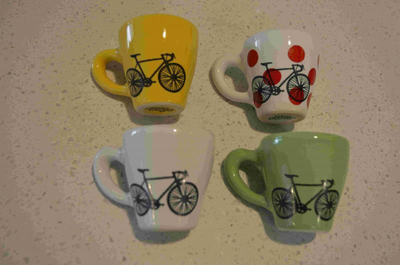 Sold Tour De France Espresso Cups With Saucers Buy Sell