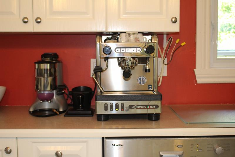 Plumbing In And Draining Espresso Machine Example