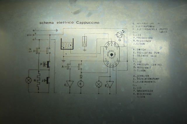 Schema Elettrico Wiring Diagram : Rewiring a v espresso machine what is the best wire gauge to use