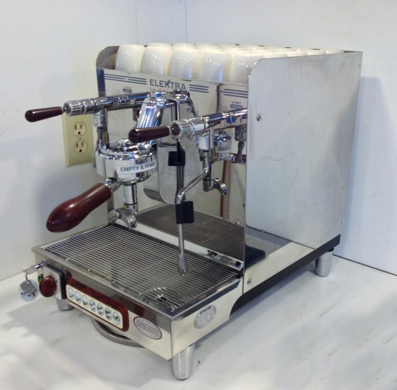 elektra expresso machine