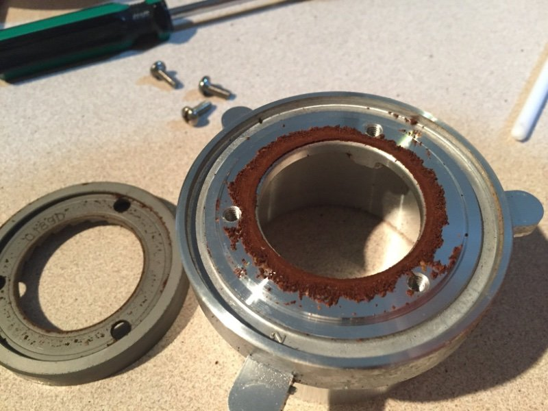 how to clean burr grinder