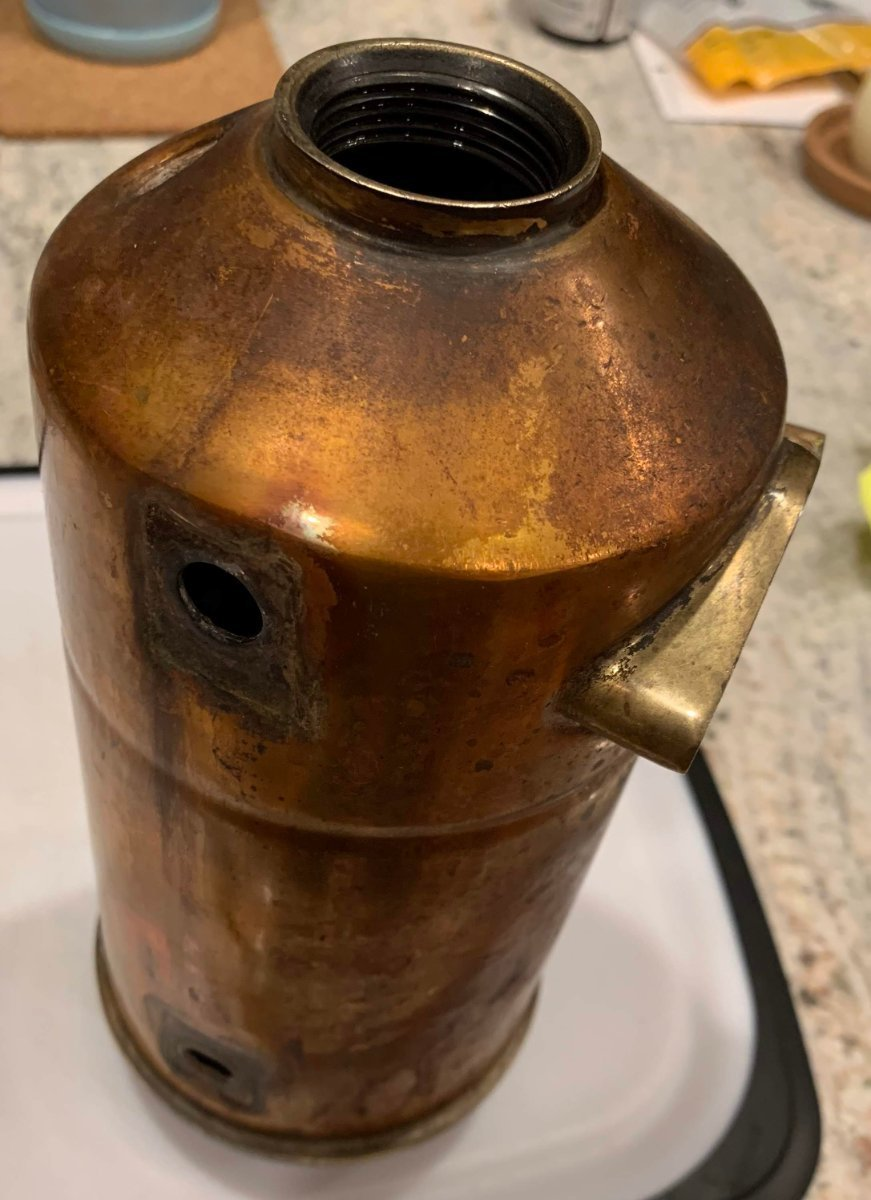 La Pavoni Pro Copper/brass Restoration