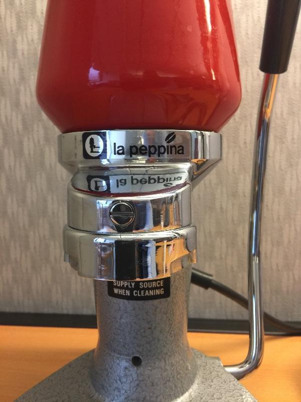 Sold La Peppina Fe Ar Lever Espresso Machine Buy Sell