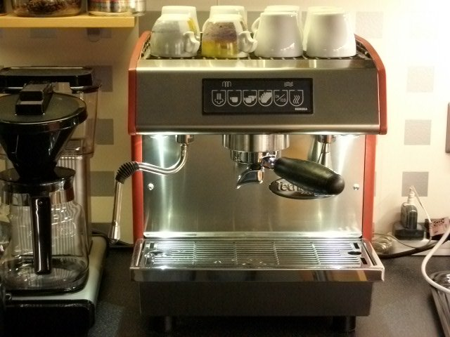 commercial espresso coffee cappuccino machine