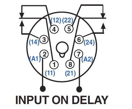 8 pin time delay relay wiring diagram images time delay off relay 12 volt dpdt relay wiring diagram on 8 pin