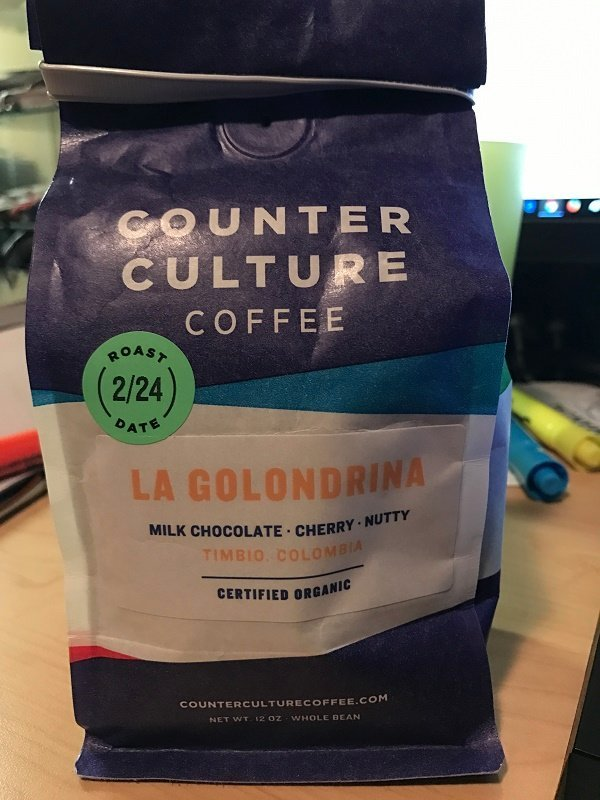Counter Culture La Golondrina Group Tasting Page 4