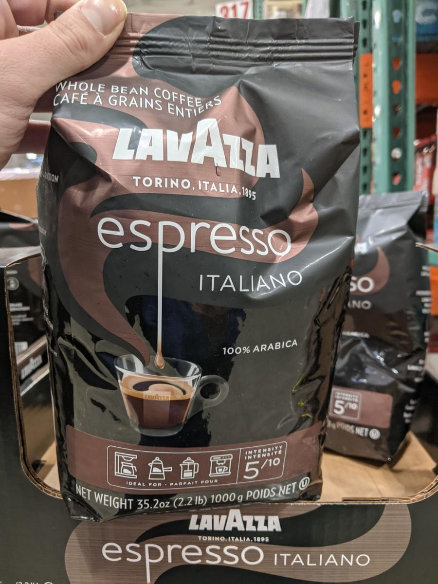 Lavazza whole bean 4.45/lb at Costco. Should I bother?