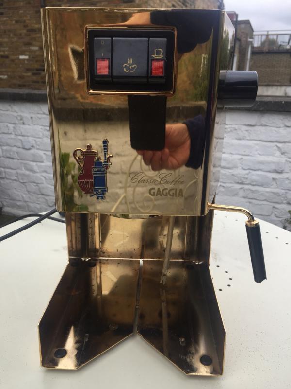 Classic Coffee Gaggia Rework