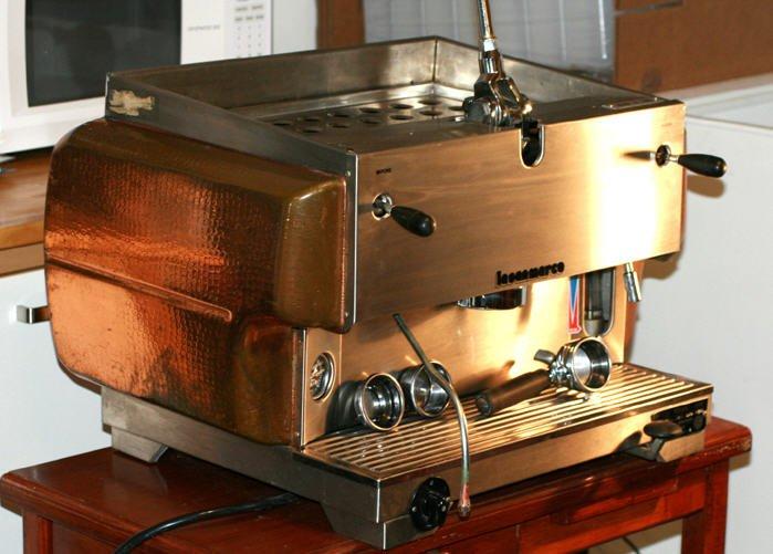 Someone needs to buy this San Marco espresso machine on eBay