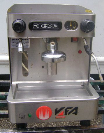 European Auto Parts >> Anyone seen or heard of a VFA espresso machine?