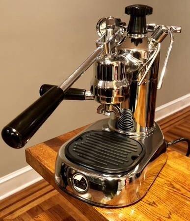 Used La Pavoni Pro $450 for first espresso machine?