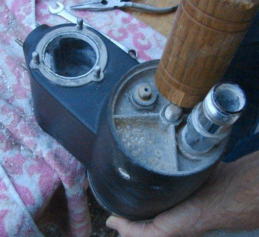 Lacimbali Microcimbali Boiler Removal