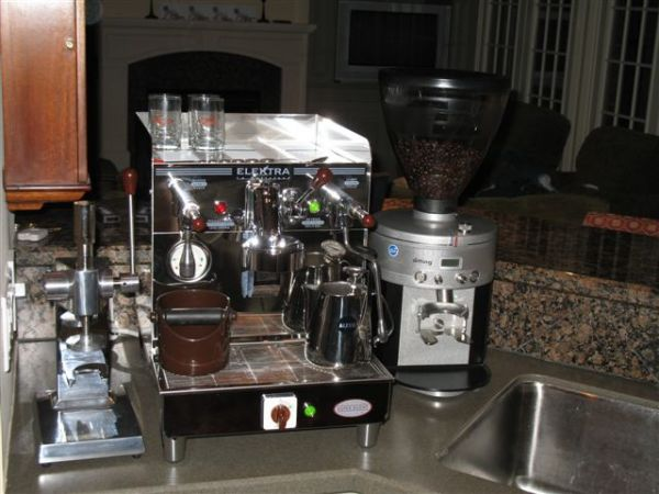 Mazzer mini e vs mahlkoenig k30 vario page 5 for Mini coffee bar