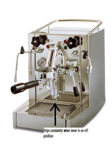 espresso machine e61