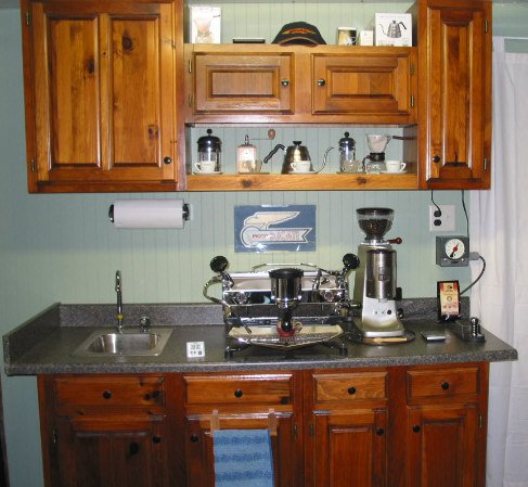 Post a pic of your home espresso setup page 89 for Pictures of home coffee bars
