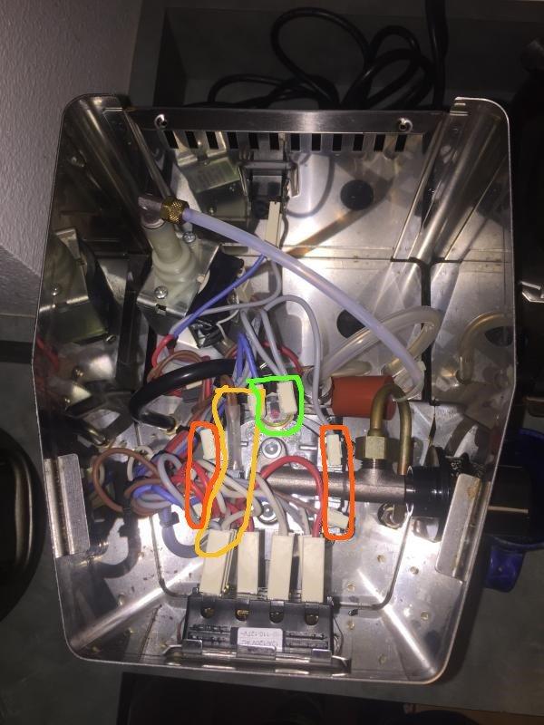 Gaggia Classic Electrical Problem  No Heat