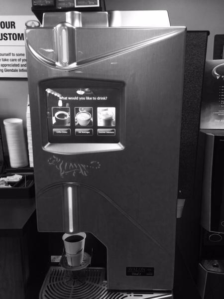 My Car Dealer S Coffee Vending Machine