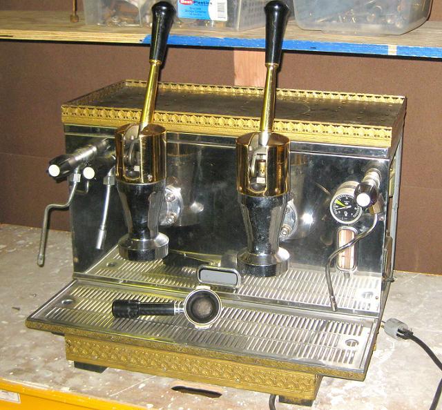 brugnetti espresso machine