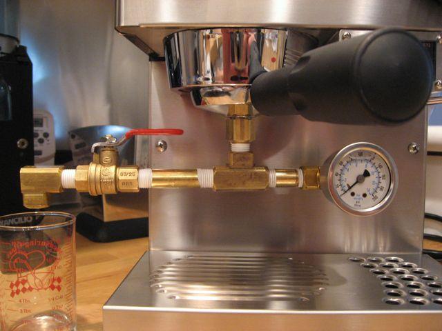 Rancilio Silvia Pressure Gauge Test