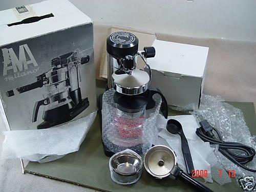 Need Assistance With Vintage Ama Milano Espresso Machine