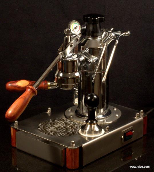 Back Of A Coffee Machine