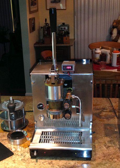 la spaziale espresso machine manual